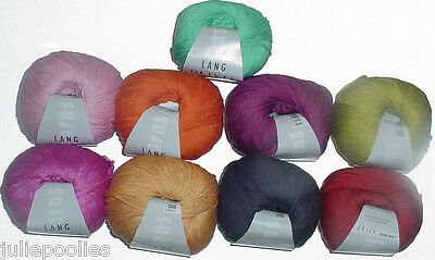 $7.99 • Buy  Lang Olivia Mulberry Silk Ribbon Yarn - Choose From 9 Colors