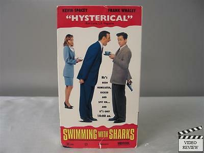 AU26.92 • Buy Swimming With Sharks VHS Kevin Spacey, Frank Whaley