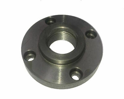 Rdgtools 4  100mm Lathe Chuck Backplate With Boxford Thread 4 Fixing Holes • 22.50£