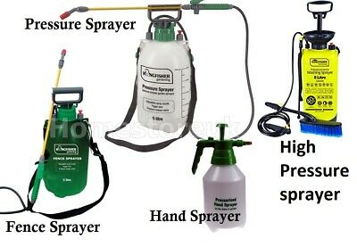 £13.95 • Buy  Best Pressure Pump Sprayer Shed Fence Weed Killer Insect Pest Control Gun Spray