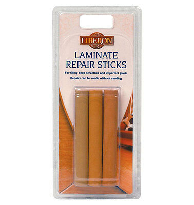 Liberon Laminate Floor Repair Sticks Disguises Deep Scratches Pin Holes & Joints • 6.29£