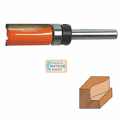 1/2  & 1/4  Inch Imperial Template Cutter Router Bit Bits TCT Twin Fluted Jig • 4.76£