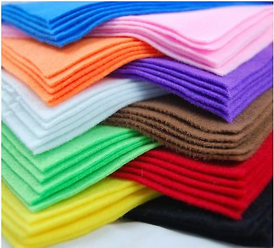 £2.29 • Buy  A4 Felt Fabric Sheets For Arts And Crafts, Many Colours & Quantities