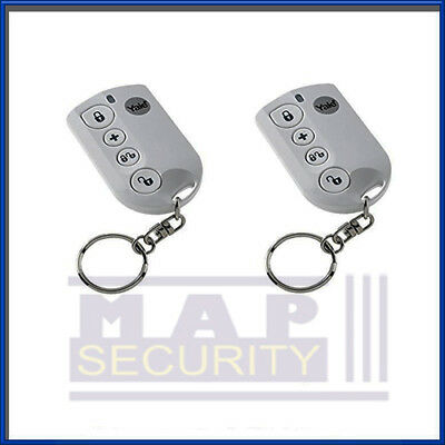 Pair Of Yale Easy / Smart Fit Remote Keyfobs For Alarm Arm Disarm Next Day Post • 51.49£