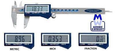 £56.21 • Buy Moore And Wright 0-6  / 0-150mm / Fraction Digital Vernier Caliper Mw110-15dfc