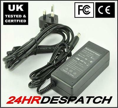 LAPTOP MAINS CHARGER POWER SUPPLY For HP Compaq Presario CQ60, CQ61 With LEAD • 13.89£