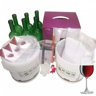 WineBuddy Youngs Home Brew Wine Making - CHOICE Of Starter Kit Or Refill Kits • 28.95£