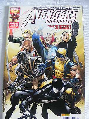 £3.99 • Buy Avengers Unconquered # 15 03/03/10 The Siege