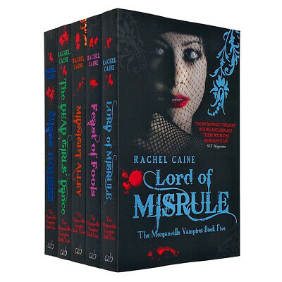 £15.99 • Buy Morganville Vampires Series(1-5) Collection 5 Books Set NEW Pack By Rachel Caine