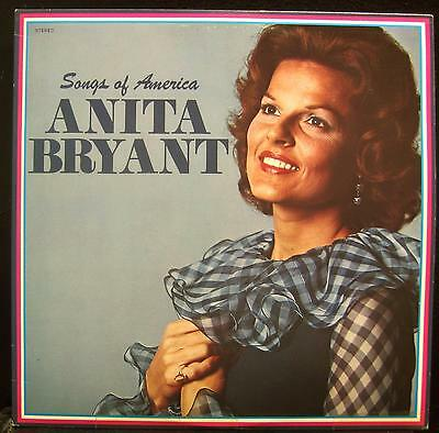 ANITA BRYANT Songs Of America 2 LP Mint- LSM 110 Vinyl 1978 Record • 9.32£