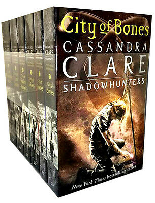 Shadowhunters Series Cassandra Clare Set 6 Books Collection Mortal Instruments • 16.43£