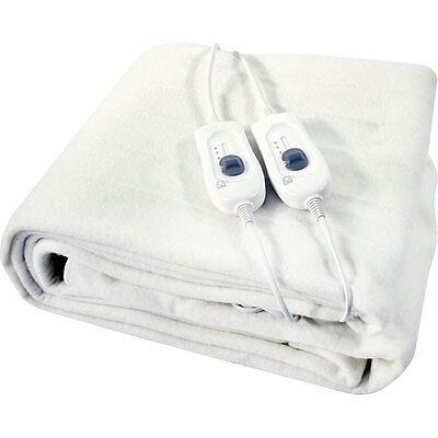 £14.90 • Buy King / Double /single Size Electric Blanket Under Bed Warm Night Washable Heated