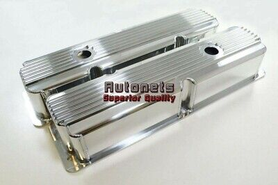 $167.95 • Buy Ford FE Polish Fabricate Finned Aluminum 352-360-390-406-410-427-428 Valve Cover