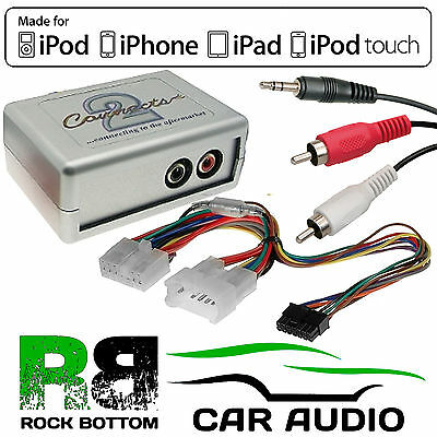 CTVTYX001 Toyota Avensis 1998-04 Car Aux Input MP3 IPhone IPod Interface Adaptor • 34.95£
