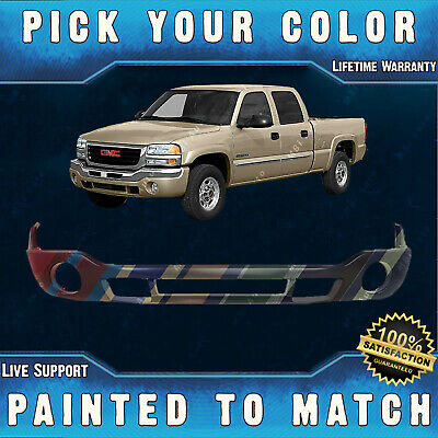 $360.99 • Buy Painted To Match Front Bumper Lower Valance For 2003-2007 GMC Sierra 1500 2500HD