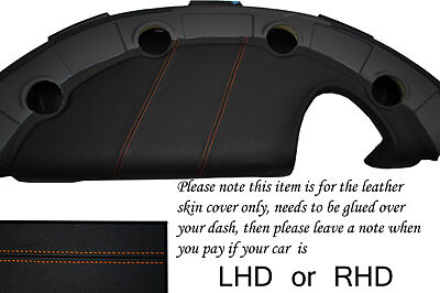 $ CDN203.58 • Buy Orange Stitch Fits Lotus Elise Exige S2 2002-2006 Dash Leather Cover Only
