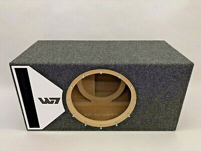 $ CDN355.24 • Buy JL Audio 13W7 AE Ported Subwoofer Box SPECIAL EDITION With White Plexi Port Trim