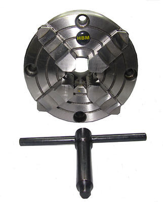 Rdgtools 125mm 4 Jaw Independent Lathe Chuck Front Mount Myford • 69.50£