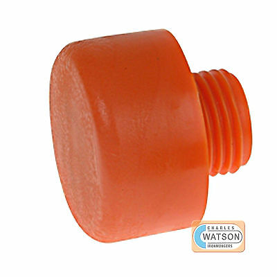 Thor Replacement Orange Plastic Head Hammer Face - 19, 25, 32, 38, 44 & 50mm • 5.48£