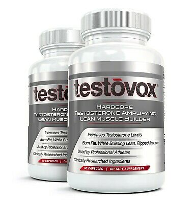 $35.95 • Buy 2x Testovox Hardcore Anabolic Muscle Builder, Testosterone Booster, 60 Capsules
