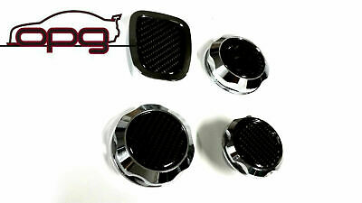 AU89.95 • Buy Chrome Carbon Top Engine Cap Kit For VF Holden Chevrolet SS SSV 6.0L LS2 L98 4pc