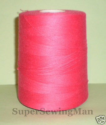 £9.99 • Buy Heavy Duty Industrial Sewing Machine Threads Size T-60 Color Hot Pink