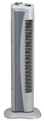 Genuine Prem-i-Air Grey Portable Tall Standing Cold Air Tower Fan With Timer H39 • 39.95£