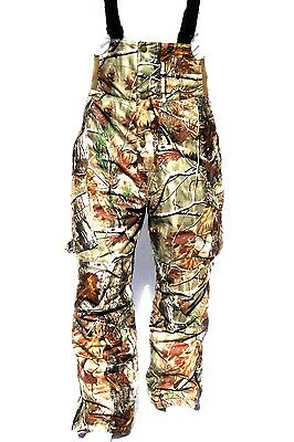 272fe812fdd99 Cabela's Men's Silent-Suede Dry-Plus Waterproof Realtree AP Hunting Pants  BIBS • 259.00