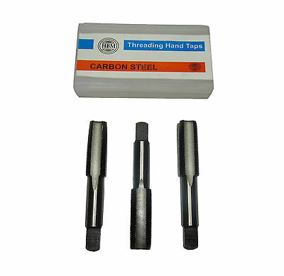 £10.95 • Buy Rdgtools Metric Taps Left Hand Thread Set Of 3 First Second And Plug Tap