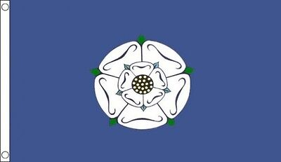 Yorkshire Old Flag 5 X 3 FT - 100% Polyester With Eyelets - Flag - English Count • 4.99£
