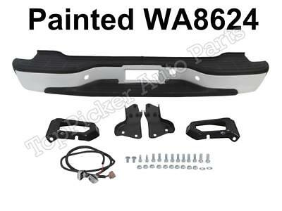 $278.17 • Buy NEW Painted Summit White WA8624 Rear Bumper Assy For 00-06 Chevy Suburban Tahoe