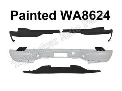 $222.11 • Buy Painted White Rear Bumper Top Lower Pads For 2000-2006 SUBURBAN TAHOE YUKON