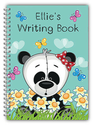 A5 Personalised Children's Notebooks/50 Write Hand Writing Practice Paper/ 01 • 7.90£