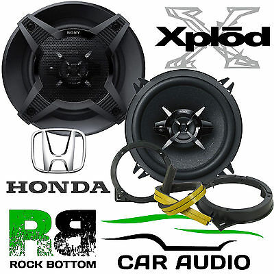 Honda Civic EP3 2000-05 SONY 13cm 5.25 Inch 480 Watts 3-Way Front Door Speakers • 49.99£
