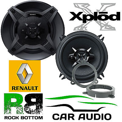 Renault Megane 2008-2014 SONY 13cm 5.25 Inch 480 Watts 3-Way Front Door Speakers • 49.99£