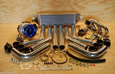$1123.63 • Buy FOR BMW M10 Stainless Turbocharger Turbo Kit T3 BMW 2002 1800 1600 1500 318 518