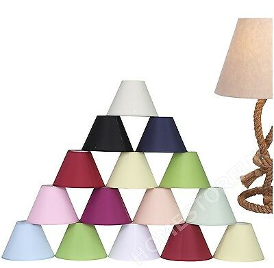 £8.95 • Buy Coolie Hanging Ceiling Pendent Or Table Lamp Light Shade Plain Colour Lampshade