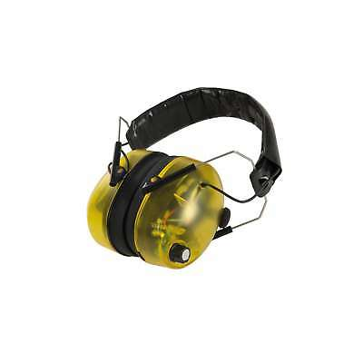 £20.26 • Buy Silverline Ear Defenders Electronic SNR 30dB Protection Safety Work - 659862