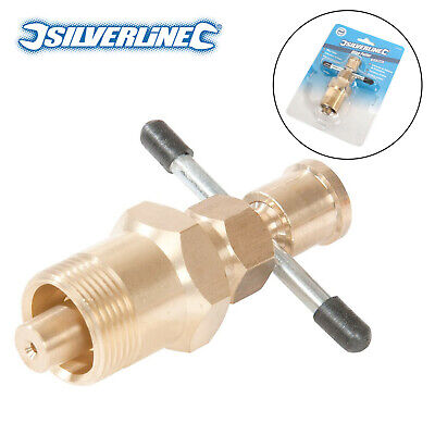 View Details Silverline 675228 15mm&22mm Olive Remove Puller Solid Brass Copper Pipe Fitting • 12.80£