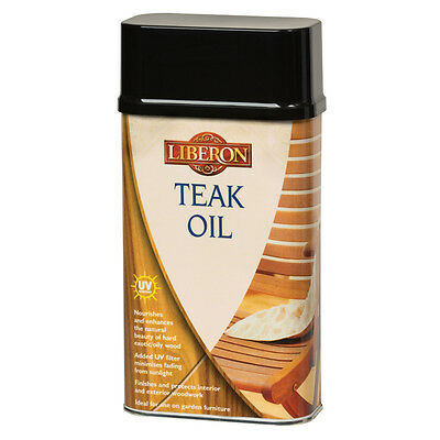 £12.95 • Buy Liberon Teak Oil 500ml With UV Nourishes And Enhances The Natural Beauty