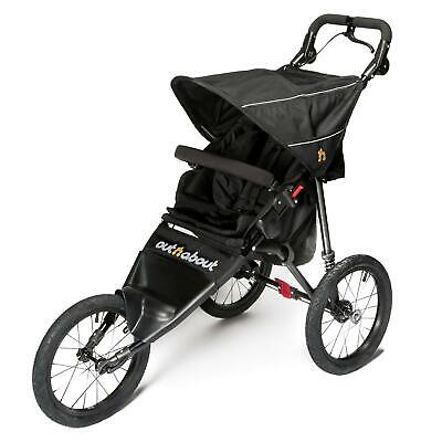 £319 • Buy Out N About Nipper Sport V4 Jogger (Raven Black) Running Buggy - RRP £419.00