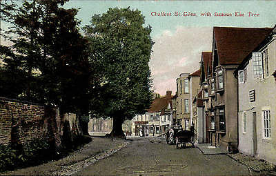 £9.50 • Buy Chalfont St Giles, With The Famous Elm Tree In Stone's Royal Series.