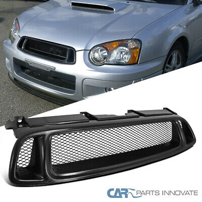 $43.95 • Buy For Subaru 04-05 Impreza WRX STI RS Mesh Black Front Upper Hood Bumper Grille