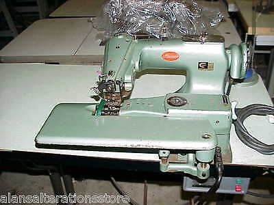 Consew 221  Industrial Blind Hemmer Felling Sewing Machine 240v • 395£