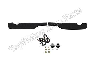 $100.36 • Buy Rear Bumper Step Pad License Lamps Sliver For 97-03 F150 Harley Davidson