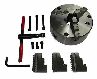 Rdgtools 3 Jaw Self Centering Lathe Chuck 80mm - 250mm Various Sizes Engineering • 86.50£
