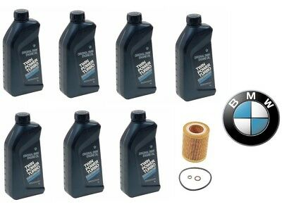 $ CDN118.13 • Buy 7-Quarts Genuine BMW Synthetic 5w30 Motor Oil &1-Oil Filter For BMW NEW