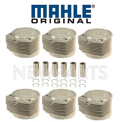 $3481.92 • Buy For Set Of 6 Pistons & Cylinders OEM Mahle For Porsche 911 930 3.3L H6 Turbo