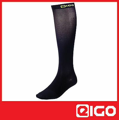 New Cycle Compression Recovery Socks Black -triathlon Cycling Mtb Spin Race 1 Pr • 9.99£