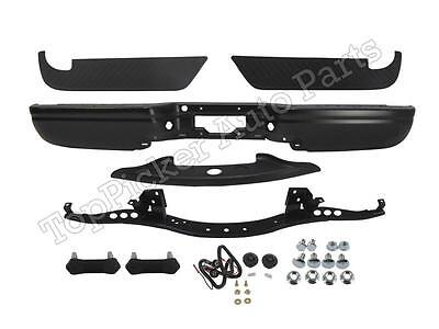 $412.87 • Buy Black (Paintable) Rear Bumper Bar Assembly 12Pc For 97-03 Ford F150 Styleside